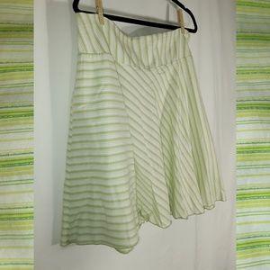 torrid Skirts - Green TORRID Striped Skirt